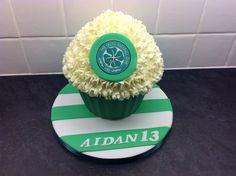 Celtic giant cupcake
