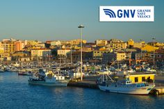 A nice view of #PortoTorres, #Sardinia, #Italy. Discover #GNV routes from/to #PortoTorres here: http://www.gnv.it/en/ferries-destinations/porto-torres-ferries-sardinia.html