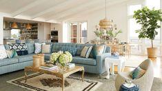 Long Beach Island living room