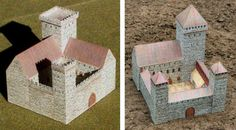 PAPERMAU: Medieval Architectural Paper Models For Dioramas, RPG And Wargames - by Norbtach