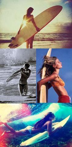 Surf Girls Rock! Do you surf?