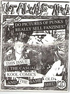 Signs Of Life NYC: NYC Political Punk Zines 1985-1991