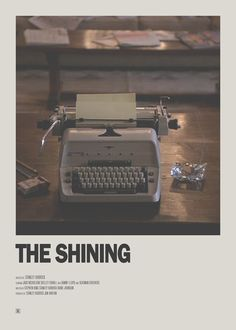 The Shining 1980 - Minimalist Movie Poster Iconic Movie Posters, Minimal Movie Posters, Cinema Posters, Movie Poster Art, Poster S, Iconic Movies, Poster Wall, Minimal Poster, Posters Vintage