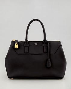 Want  Petra+Leather+Satchel+by+Tom+Ford+at+Neiman+Marcus.