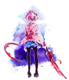 Beyond the Boundary -Mirai Kuriyama Manga Art, Manga Anime, Anime Art, Katana, Sword Art Online, Mirai Kuriyama, Beyond The Boundary, Otaku, Fanart