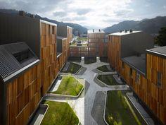 Mieres, Asturias, Spain  VIVAZZ, 131 Viviendas Protegidas  PREMIO DE ARQUITECTURA - XI Bienal Española de Arquitectura y Urbanismo