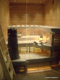 Image result for pieni sauna Home Furnishings, Blinds, Bathrooms, Divider, Kitchens, Curtains, Image, Furniture, Home Decor