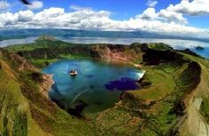 Lake Taal, Philippines    http://whatisthewik.com/most/interesting-lakes-world/