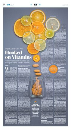 Older Americans Are Hooked on Vitamins|The Epoch Times Ameri. Older Americans Are Hooked on Vitamins|The Epoch Times Crea Design, Design Blog, Book Design, Design Art, Page Layout Design, Magazine Layout Design, Magazine Layouts, Newspaper Layout, Newspaper Design