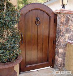 Dynamic Garage Door   Designer Pedestrian Gate : Architectural Gates