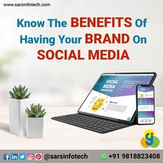 5 Benefits of Social Media Marketing For #Business:  1. Brand Awareness 2. More Website Traffic 3. Cost Effective 4. Genuine Leads 5. Increase Sales   To know more about best Social Media Marketing Services whatsapp on +91 9818823408.  #socialmedia #socialmediamarketing #socialmediatips #socialmediaagency #digitalmarketing #socialmediamanager #contentmarketing #socialmediamanagement #marketing #marketingagency #marketingtips #networkmarketing #socialmediamarketing #smo #sarsinfotech Content Marketing, Social Media Marketing, Digital Marketing, Increase Sales, Best Web Design, Web Design Company, Social Media Tips, Online Business, Benefit