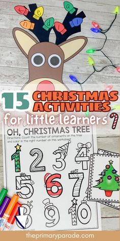 30 Cute Christmas activities for kids and fun Christmas crafts for preschool Preschool Christmas Activities, Christmas Crafts For Toddlers, Kindergarten Activities, Toddler Preschool, Preschool Activities, Christmas Games, Reading Activities, Kids Crafts, Christmas Ideas