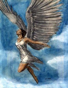 Angel Artwork, Archangel Gabriel, Peter Paul Rubens, Principles Of Art, Black Angels, Angels Among Us, Above The Clouds, Albrecht Durer, Renaissance Art
