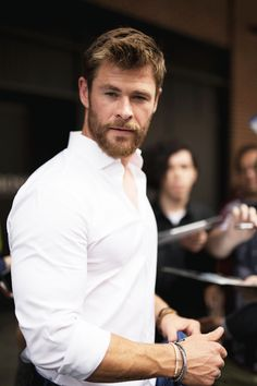 Chris Hemsworth 2018 Spring Menswear Fashion Week, New York | July 11, 2017