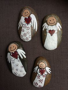 - Best Picture For crafts room For Your Taste You are looking for something, - Rock Painting Patterns, Rock Painting Ideas Easy, Rock Painting Designs, Paint Designs, Stone Crafts, Rock Crafts, Diy Crafts To Sell, Arts And Crafts, Pebble Painting