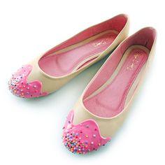 Pink Sprinkle Flat at shoebakery.com