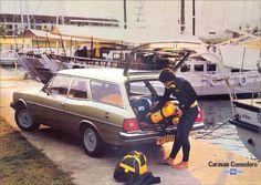 2459 - GM - CHEVROLET - Opala 1984 - Caravan Comodoro - Placa NY 3313 - 41x29 cm. - General Motors, All Cars, Chevy, Pop Culture, Vehicles, Sports, Metal, Opals, Exercise