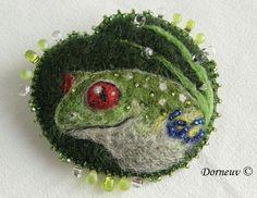 Вышивка бисером на войлоке от Sandra Kermorvant. Обсуждение на LiveInternet - Российский Сервис Онлайн-Дневников