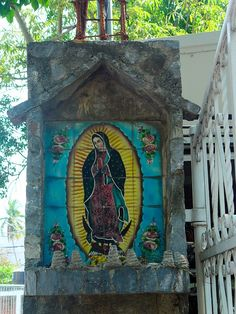 The Our Lady of Guadalupe shrine adjacent to Plaza Kyoto.