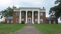 Clay Hill, located at 433 Beaumont Avenue in Harrodsburg, Kentucky, United States. Built in 1812 as the home of Beriah Magoffin, it is listed on the National Register of Historic Places.