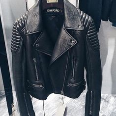Oh ma ha, I must have a nice black leather jacket one day...anyone who wants to get me a gift!!?? Lol