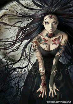 Gothic fantasy art                                                                                                                                                      More