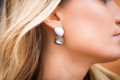 These metals are so chic. Shop the earrings @ www.myfavouritemusthaves.com
