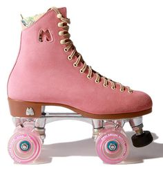 I've got a brand new pair of roller skates... I wish.  and PINK!