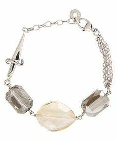 Cesare Paciotti Multicolor Stone Bracelet - JPBR0679B #accessories  #jewelry  #bracelets  https://www.heeyy.com/suggests/cesare-paciotti-multicolor-stone-bracelet-jpbr0679b-silver/