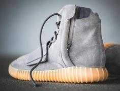 Chaussure Adidas Yeezy 750 Boost Suede 'Grey Gum' (4)