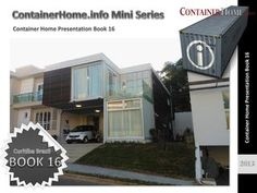 Shipping Container Homes Book 16