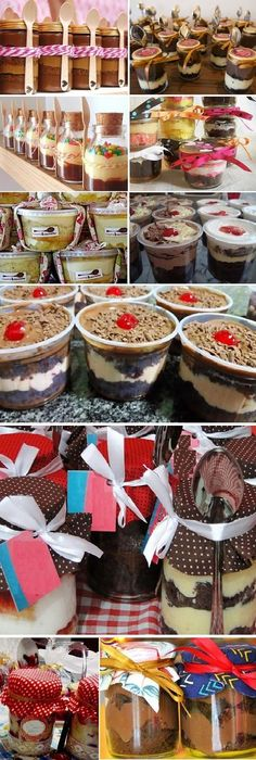 Cómo hacer TORTA en POTES para vender, Si te gusta dinos HOLA y dale a Me Gusta MIREN … My Recipes, Sweet Recipes, Dessert Recipes, Bar Deco, Cake In A Jar, Party Decoration, Sweet Desserts, Cakes And More, Love Food