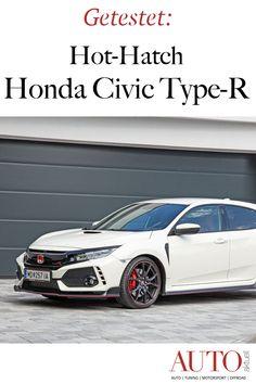 Der Honda Civic Type-R ist eines der besten Hot Hatches. Im Test verraten wir Ihnen, wie gut der Civic Type-R ist. Honda Civic Type R, Lupe, Roadtrip, Sport, Bmw, Stickers, Autos, Winter Tyres, World