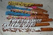 pretzels decorated