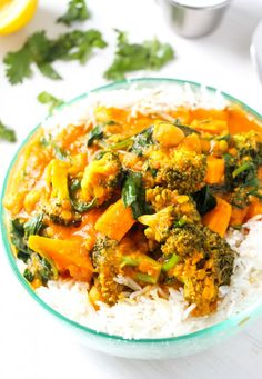 SOUTH ASIAN-SPICED VEGETABLE CURRY ~~~ while the choice of vegetables are entering modern indian cookery territory, the gravy construct remains closer to traditional. i am thinking a few curry leaves, mustard seeds, and starting with unground spices would Veg Curry, Vegetarian Curry, Vegetarian Main Dishes, Vegetarian Cooking, Vegetable Dishes, Vegetarian Recipes, Cooking Recipes, Healthy Recipes, Indian Vegetable Side Dish