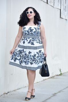 Yes, The Perfect Plus Size Sundress Does Exist via @GirlWithCurves