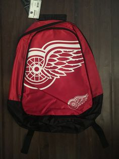 a4e4737b0a4 NHL Detroit Red Wings Big Logo Backpack