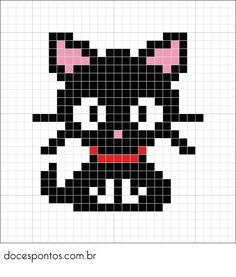 Cats diy crafts perler beads 19 Ideas for 2019 Cross Stitch Charts, Cross Stitch Designs, Cross Stitch Patterns, Hama Beads Patterns, Beading Patterns, Perler Bead Art, Perler Beads, Cross Stitching, Cross Stitch Embroidery