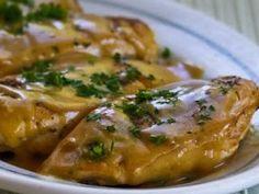 Pechugas de pollo en mostaza