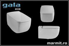 Wc suspendat Gala Eos, obiecte sanitare, cazi de baie, cazi compozit, cazi otel, cazi acril, cabine de dus, lavoare baie, lavoare compozit, chiuvete baie, mobilier baie, chiuvete bucatarie, vase wc, wc suspendat, bideuri suspendate, baterii baie, robineti baie, baterii bucatarie Eos, Container, Concept, Faucet