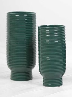 Discover the latest collection from Federica Bubani at Couverture & the Garbstore. Shop the Line Vases Set of 2 online now. Christmas Gift Guide, Christmas Gifts, Material Research, Roommate Gifts, Off Colour, Ceramics, Vases, Green, Italy