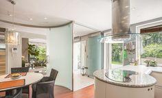 Luxury modern kitchen Luxury Kitchens, Corner Bathtub, Iker, Sliding Door, Door Ideas, Bathroom, Budapest, Modern, Divider