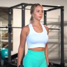 Reverse Military Press Curl Variation Over Row each arm To Lateral Raise Tip of the Day! Fitness Workout For Women, Fitness Goals, Fitness Tips, Toning Workouts, At Home Workouts, Exercises, Upper Body, Workout Videos, Fitness Inspiration
