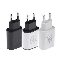 Nueva Alta Calidad de LA UE Plug 5 V 2A USB Cargador de Pared Rápido de Viaje Móvil adaptador de cargador de teléfono para iphone 5 6 6 s 7 más samsung lg htc