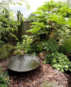 Small Water Garden Designs | Inspiring Small Garden Water Features Ideas-I really love this one.