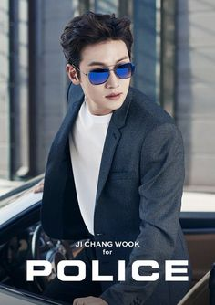 """Actor Ji Chang Wook was selected as the Korean ambassador of Italian lifestyle brand """"POLICE,"""" which is being developed in conjunction with Korean company Sewon ITC. On 9 February, POL…"""