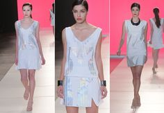Desfile Lafort - Verão 2014 Paraná Business Collection #summer #fashionshow #white