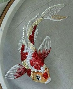 I love this, I need a beta pattern! Koi fish is lovely but I have a beta obsession.