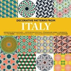Decorative Patterns from Italy (Agile Rabbit Editions): Pepin Press: 9789057681257: Amazon.com: Books