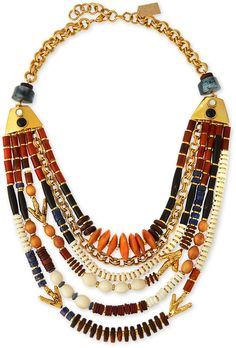 Lizzie Fortunato The Medina Necklace, Multi Colors